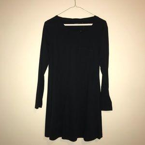black pocket tee dress.